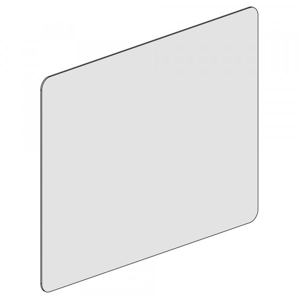Spuckschutz und Trennwand 80x60cm (B/H)