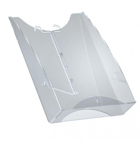 Zubehör: Prospektfach DIN A4 für Ständer Tec-Art