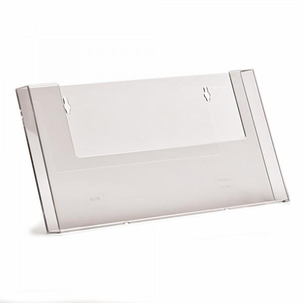 Wand-Prospekthalter Taymar® DIN A4 Querformat