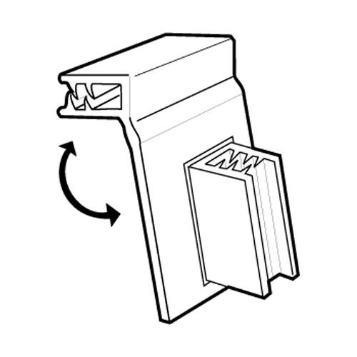 SuperGrip Flex Flag Displayhalter 2mm, beweglich - 20er Pack