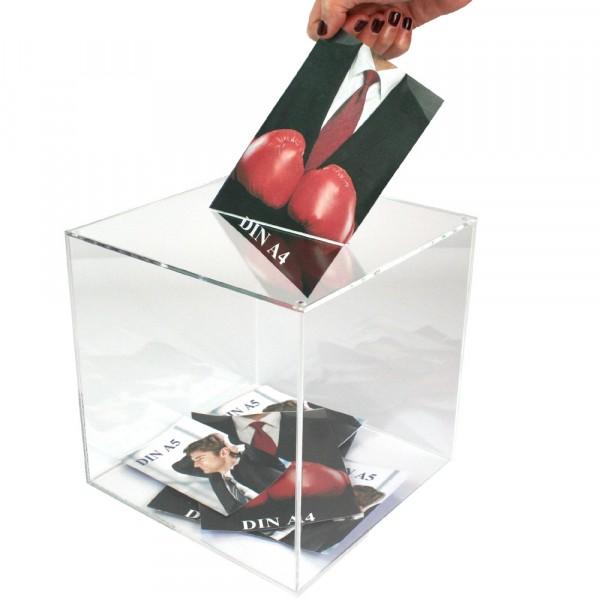 Losbox 40cm Kantenlänge ECO - Acryl