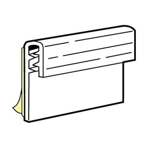 SuperGrip Displayhalter bis 2mm, selbstklebend 76mm