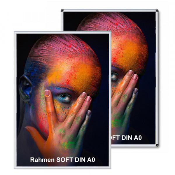 Klapprahmen Soft 25mm DIN A0 Alu