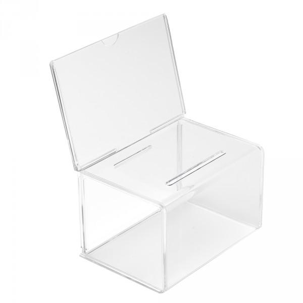 Visitenkartensammelbox 15cm mit Topschild