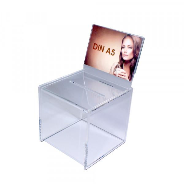 Zubehör: Topschild DIN A5 quer für Premium Losbox 20cm