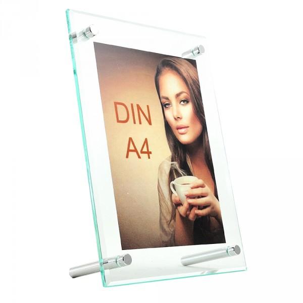 Tischaufsteller Superior DIN A4 geneigt hoch und quer
