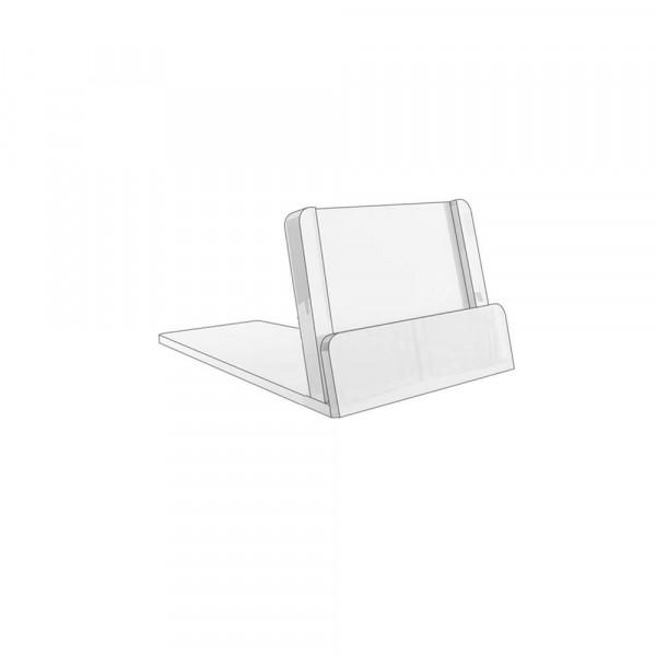 Kartenhalter 20x35mm geneigt, 0,5mm - 20er Pack