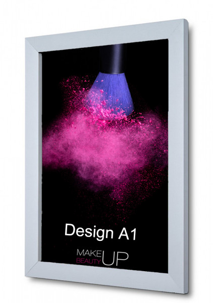 Klapprahmen Design 31mm DIN A1