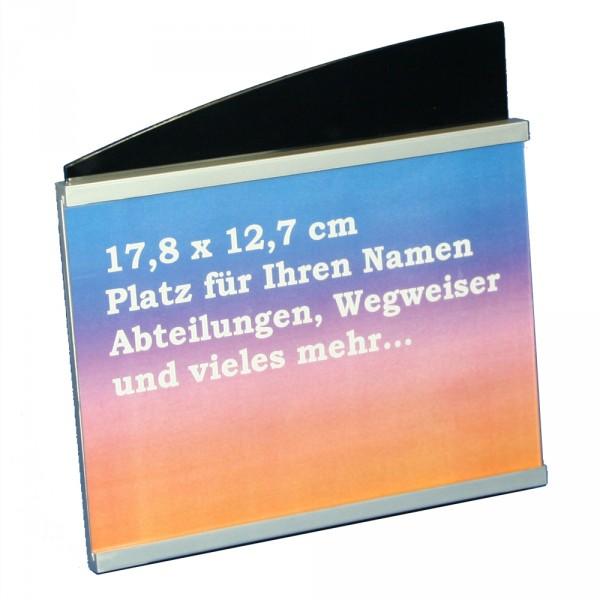 Tisch und Tresenschild 178x127mm Querformat
