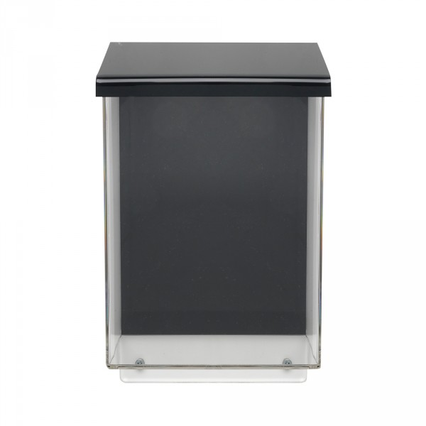 Prospekt-Aussenbox DIN A5 - BLACK