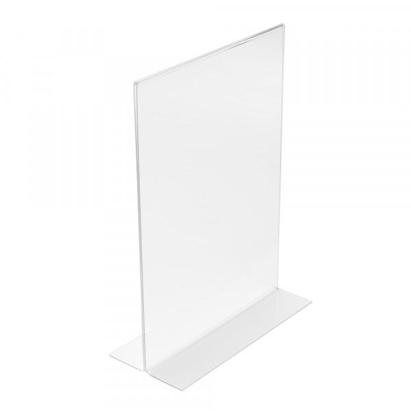 Tischaufsteller T-Form DIN A4