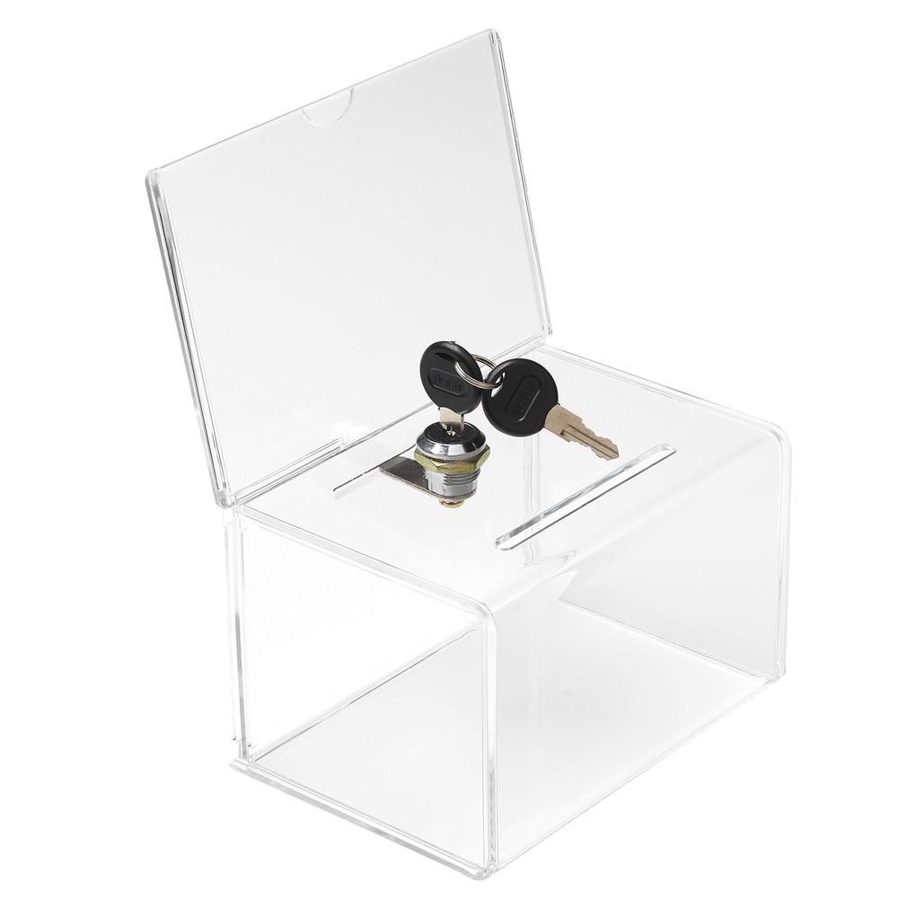 Visitenkartensammelbox 15cm Mit Topschild Und Schloss
