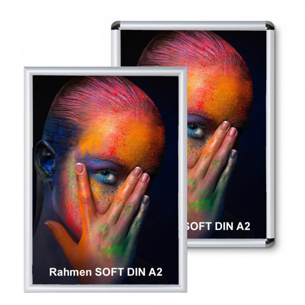 Klapprahmen Soft 25mm DIN A2 Alu