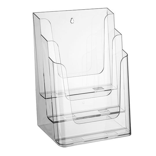 Prospektständer Nedco N® 3 Etagen - 3 Fächer DIN A4