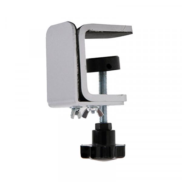 Tischkanten-Halterung Klemmen Set für Platten und Spuckschutz 2-8mm