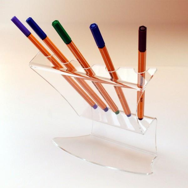 Stifthalter 5-fach Acryl 2mm