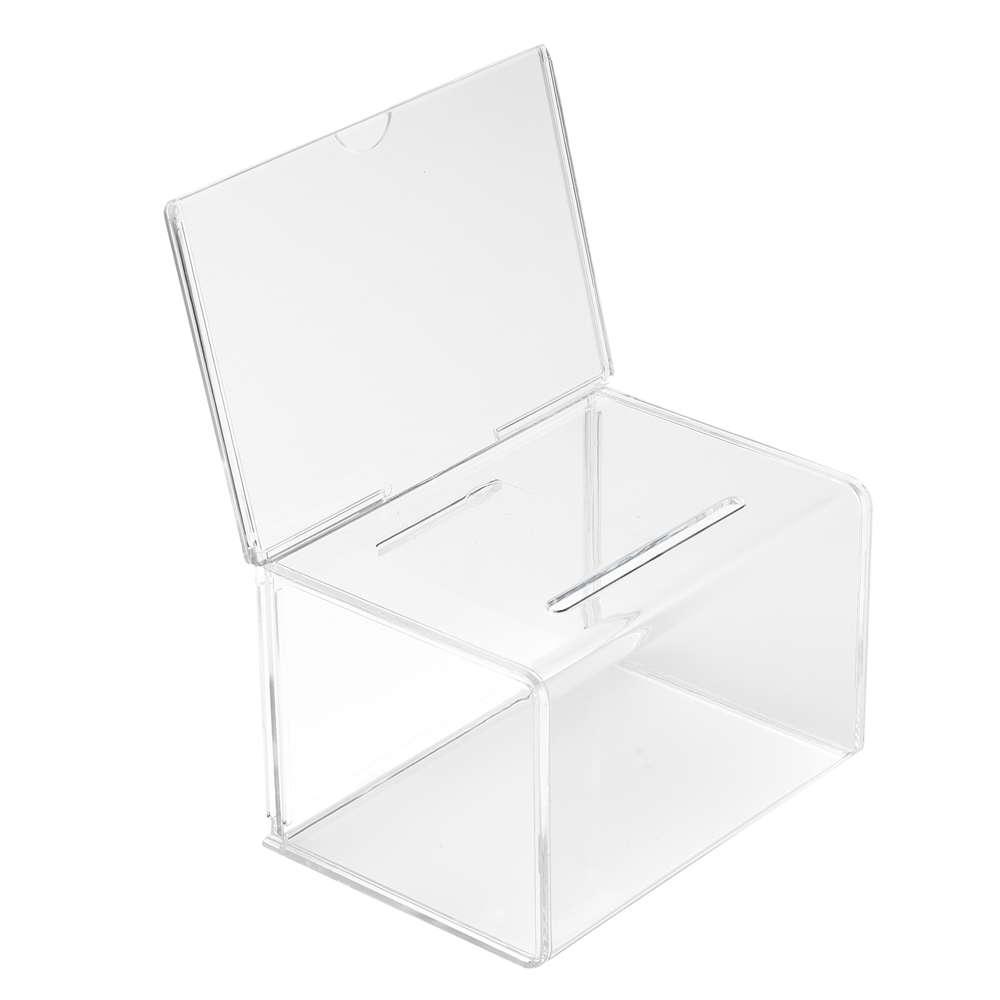 Visitenkartensammelbox 15cm Mit Topschild Lbdisplay