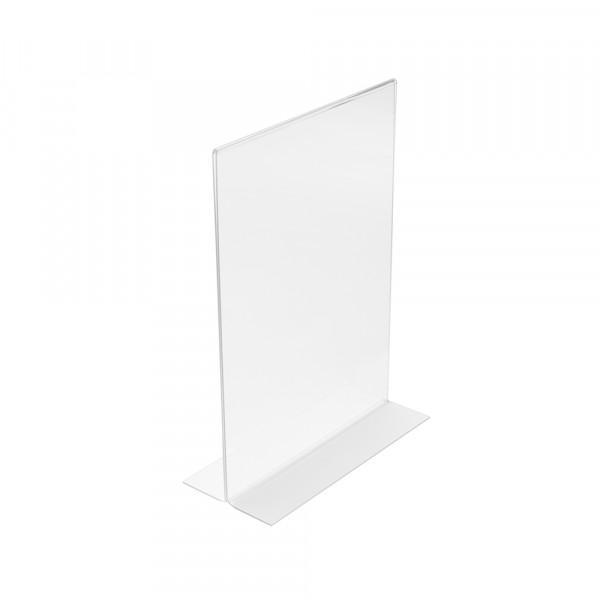 Tischaufsteller T-Form DIN A6