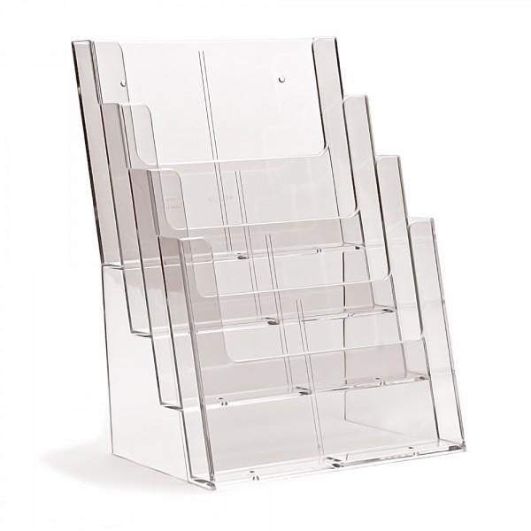Prospektständer Taymar® 4 Etagen - 4 Fächer DIN A4