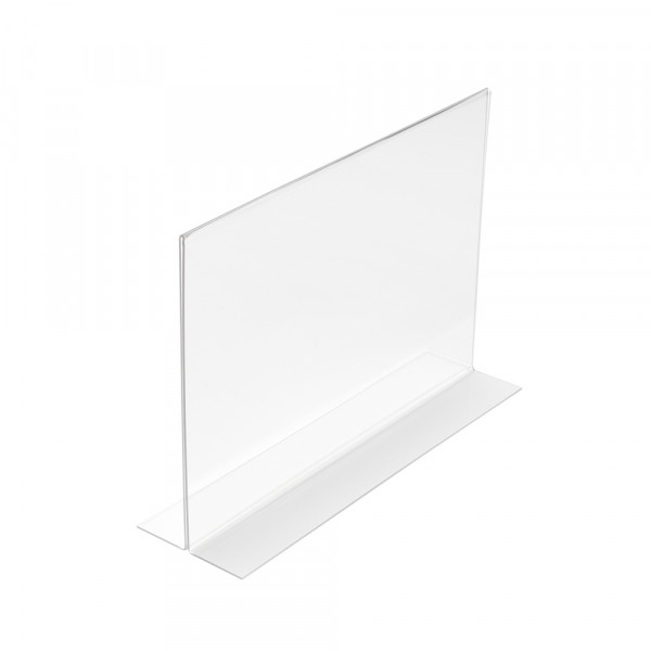 Tischaufsteller T-Form DIN A5 Querformat