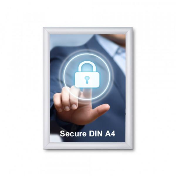 Klapprahmen Security 20mm DIN A4 Sicherheitsprofil