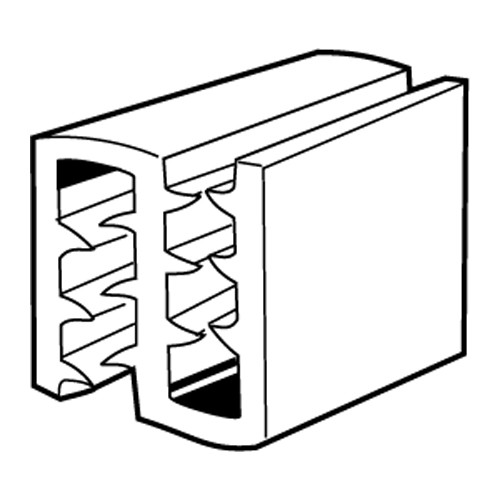 SuperGrip 2-Wege-Schildhalter - 20er Pack, 2mm 180 Grad, 25mm