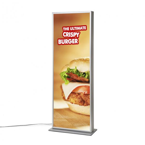 LED Leuchtsäule Stand – Klapprahmen 200x70cm