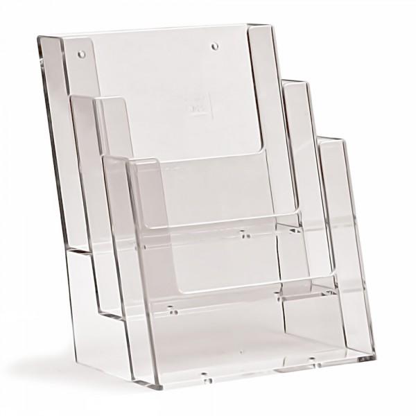 Prospektständer Taymar® 3 Etagen - 3 Fächer DIN A5