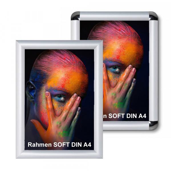 Klapprahmen Soft 25mm DIN A4 Alu