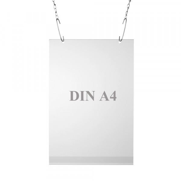 Plakattasche Einzelblatt DIN A4, Hochformat