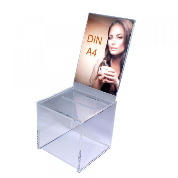 Zubehör: Topschild DIN A4 hoch für Premium Losbox 20cm