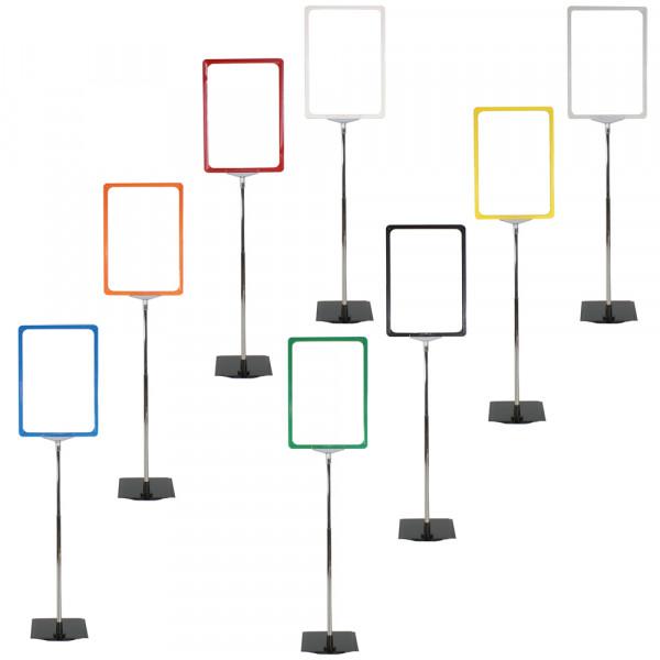 Plakatständer DIN A4 - Premium Serie - Farbe wählbar