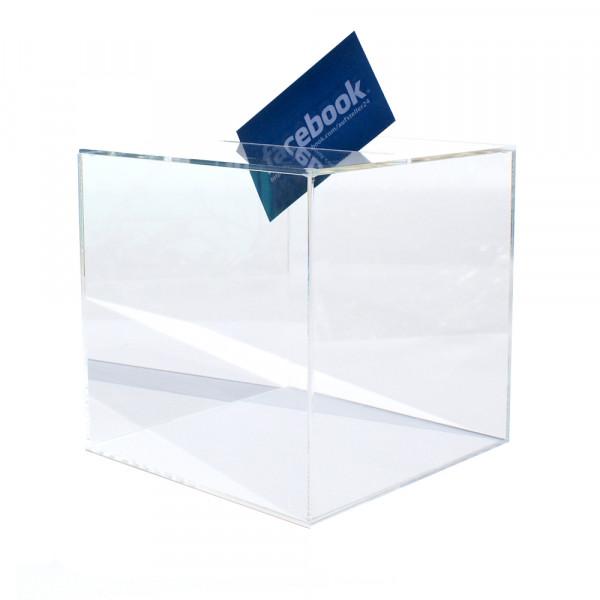 Losbox 15cm Kantenlänge ECO - Acryl