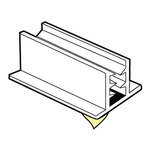 SuperGrip Displayhalter 3-5mm, breit selbstklebend 152mm