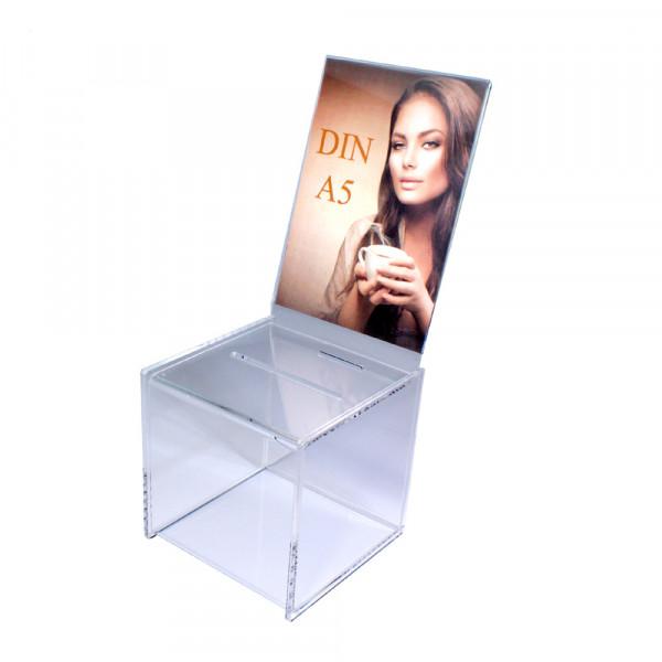 Zubehör: Topschild DIN A5 hoch für Premium Losbox 15cm