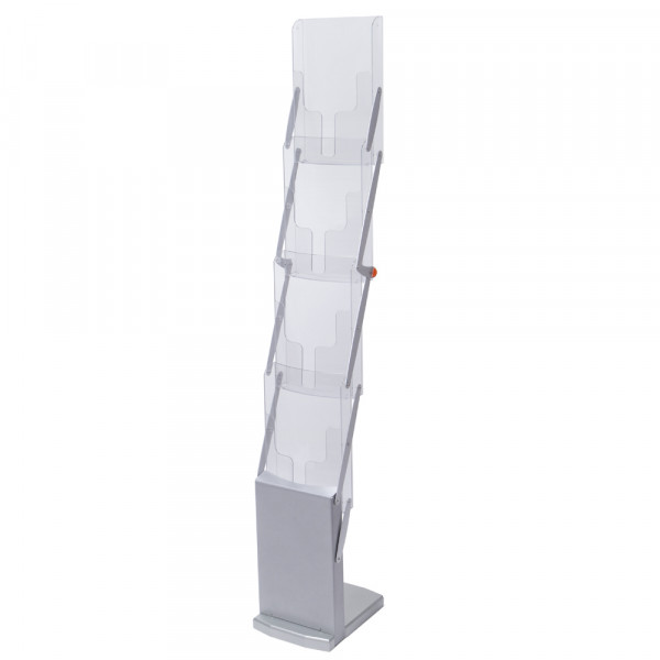 Falt-Prospektständer Real 4x DIN A4 ECO