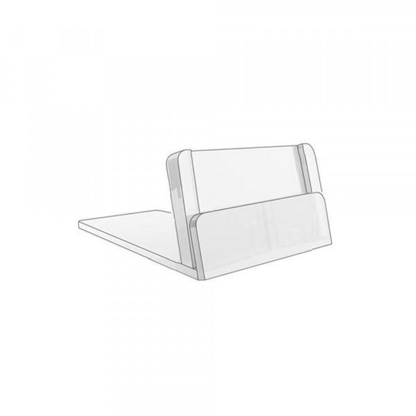Kartenhalter 15x28mm geneigt, 0,4mm - 100er Pack