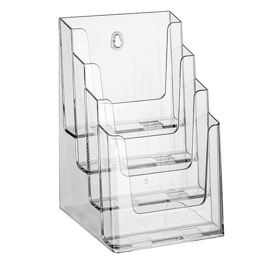 Prospektständer Nedco N® 4 Etagen - 4 Fächer DIN A5
