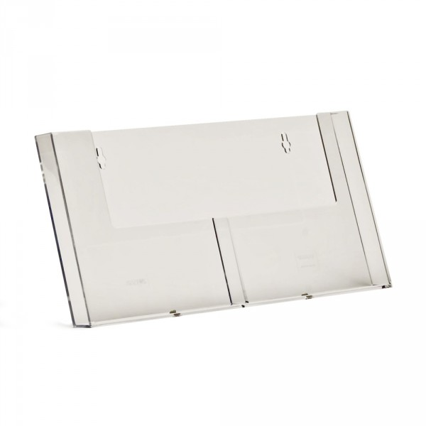 Wand-Prospekthalter Taymar® DIN A5 - 2 Fächer nebeneinander
