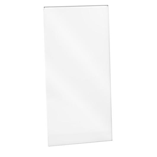 Wanddisplay Einzelblatt DIN lang, ohne Löcher Hochformat