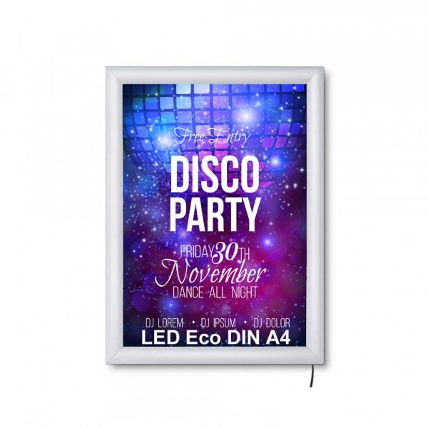 LED DIN A4 Leuchtrahmen ECO 19mm