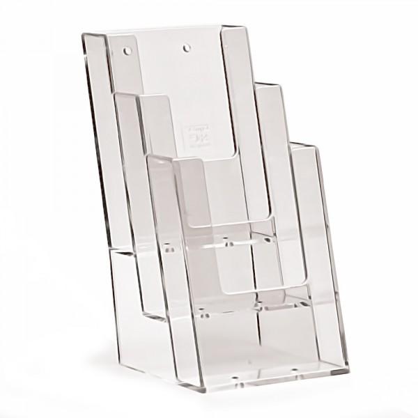 Prospektständer Taymar® 3 Etagen - 3 Fächer DIN lang