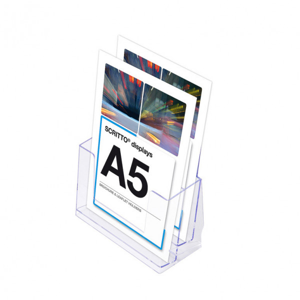 Prospektständer Scritto® DIN A5 2 Etagen - 2 Fächer
