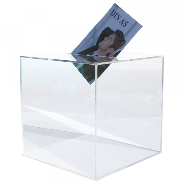 Losbox 30cm Kantenlänge ECO - Acryl