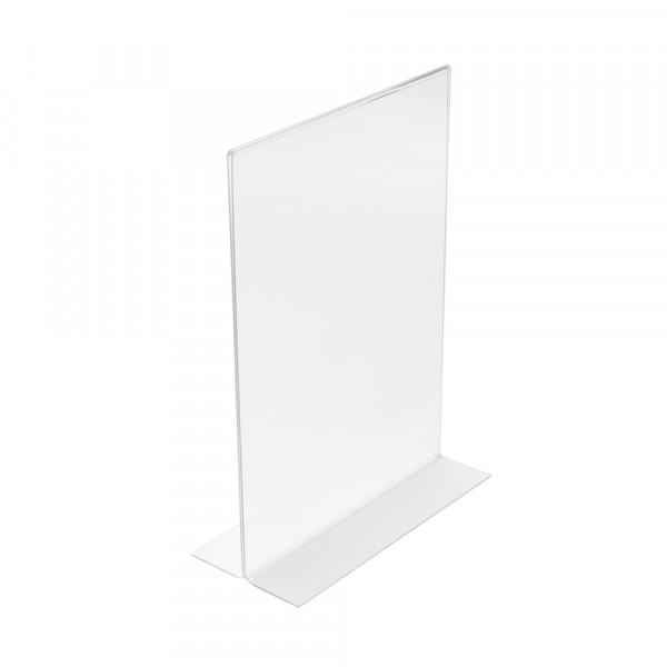 Tischaufsteller T-Form DIN A5
