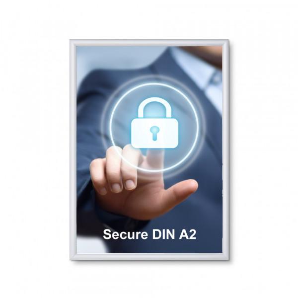 Klapprahmen Security 20mm DIN A2 Sicherheitsprofil