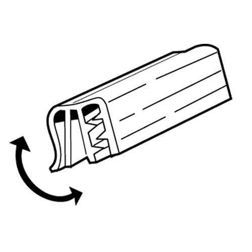 SuperGrip Data Grip bis 2mm, beweglich 76mm