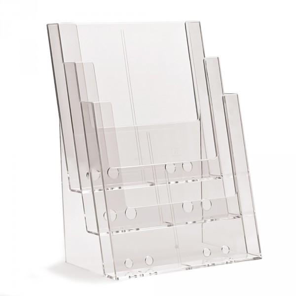 Prospektständer Taymar® 3 Etagen - 3 Fächer DIN A4