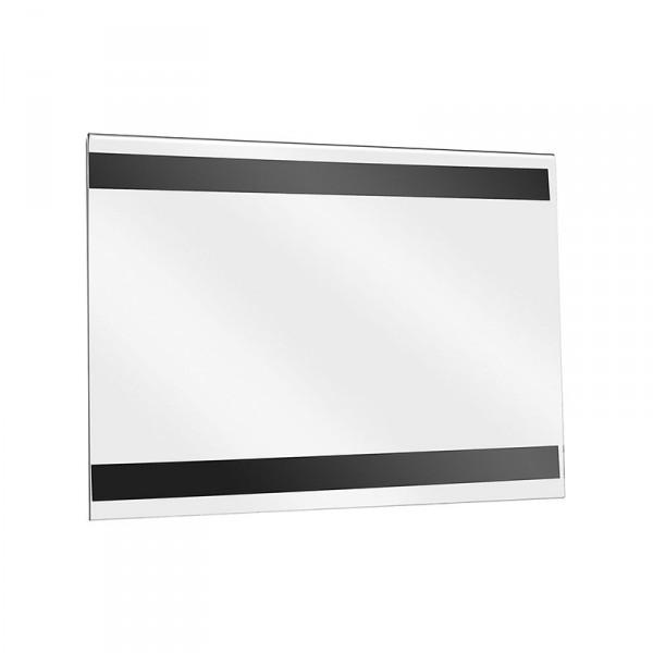Wanddisplay Einzelblatt DIN A4 Querformat mit Magnetstreifen