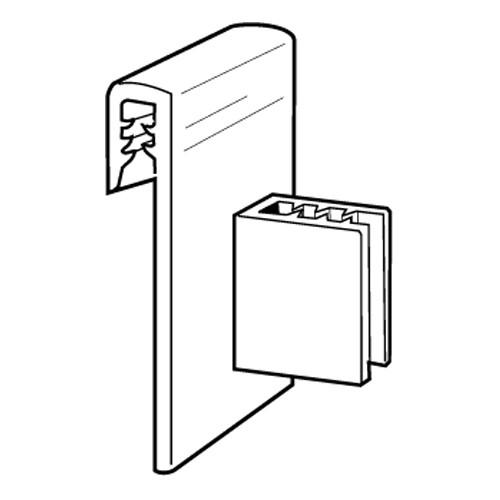 SuperGrip Data Strip Displayhalter bis 2mm - 20er Pack